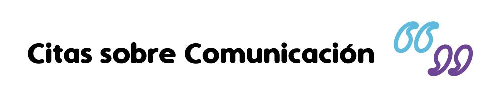 Icono Banner- Citas sobre Comunicación