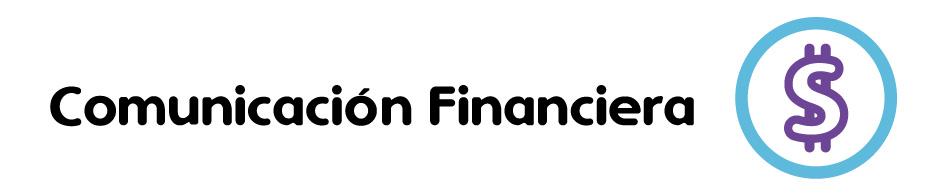 Icono Banner- Comunicación Financiera