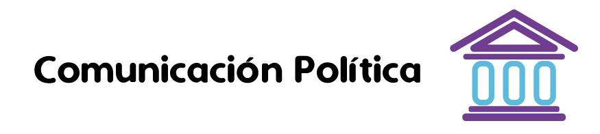 Icono Banner- Comunicación Política